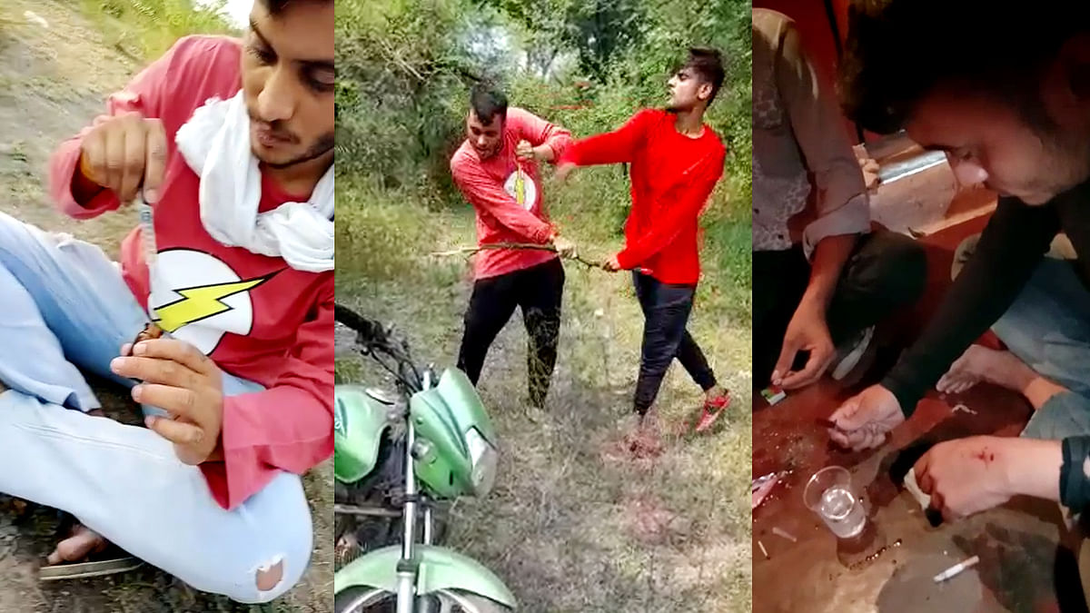 विदिशा: उड़ता पंजाब बना गंजबासौदा, BJP विधायक जैन के बेटे ड्रग्स लेते दिखे
