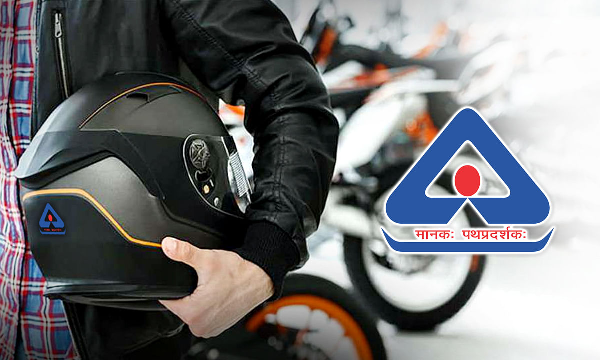 Only BIS certified helmets will made and sold in India