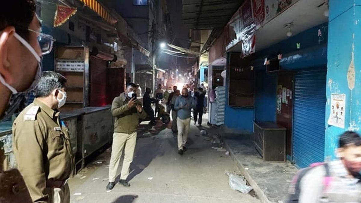 दिल्ली में कोविड नियम के उल्लंघन पर प्रशासन सख्त-ये बाजार 30 तक किए सील
