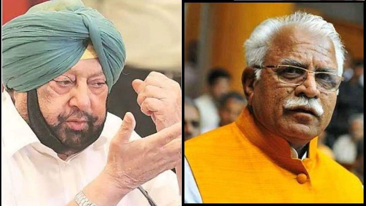 पंजाब के CM अमरिंदर सिंह मनोहर लाल खट्टर से नाराज, कही ये बात