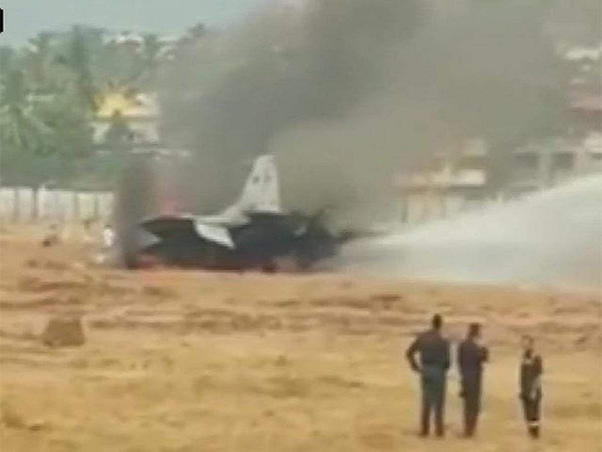 Mig-29K का ट्रेनी विमान दुर्घटनाग्रस्त- हादसे के बाद मचा हड़कंप