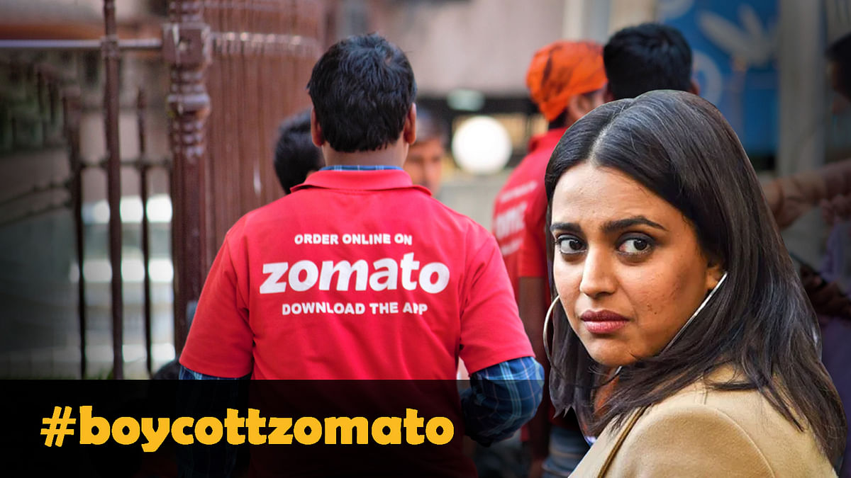 #boycottZomato : स्वरा भास्कर के सवाल का जवाब देना Zomato को पड़ा भारी