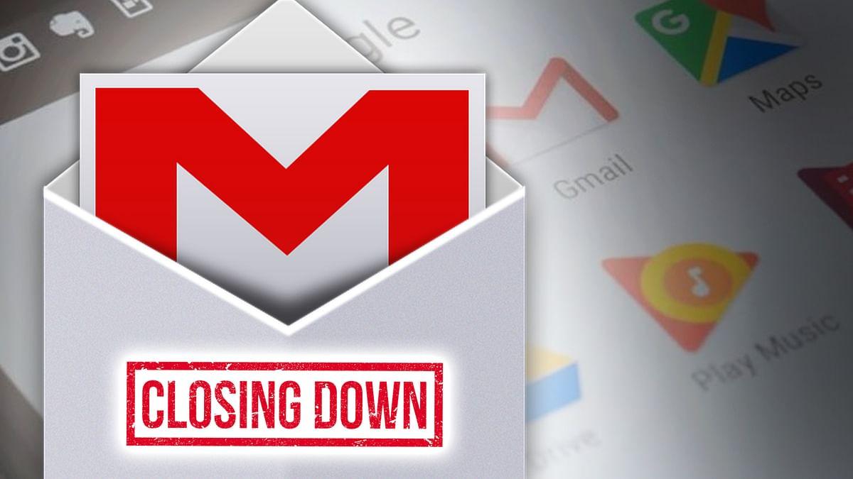 Google will close Gmail account