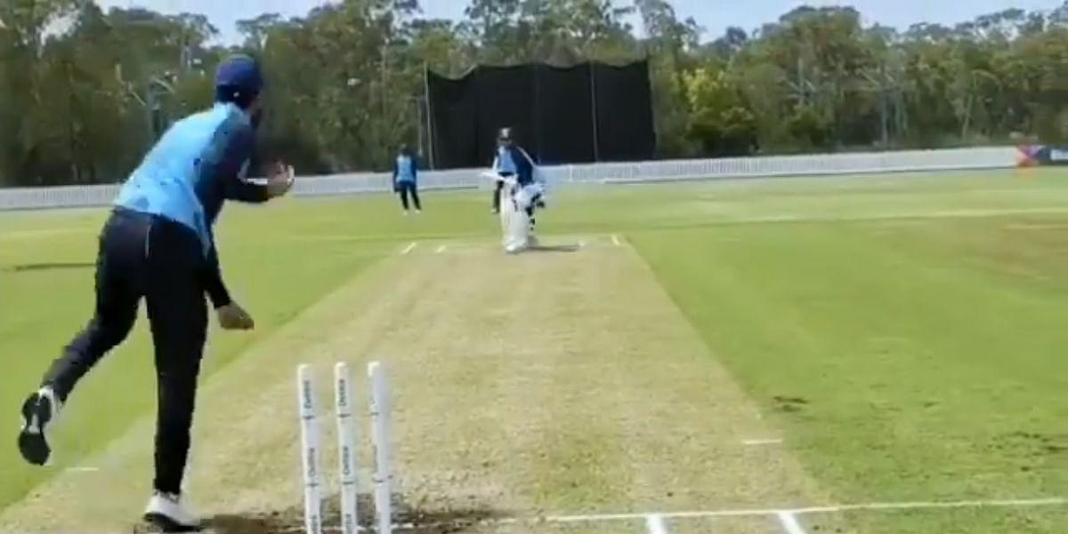 कप्तान कोहली की अगुवाई में भारतीय खिलाड़ियों ने टेस्ट मैच की तरह अभ्यास किया