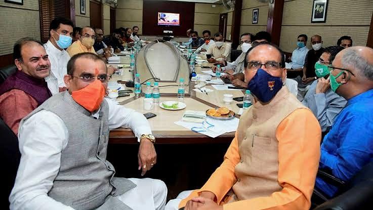 उपचुनाव:नेताओं ने की मॉनिटरिंग,वीडी शर्मा-शिवराज ने दिखाया विक्ट्री का साइन