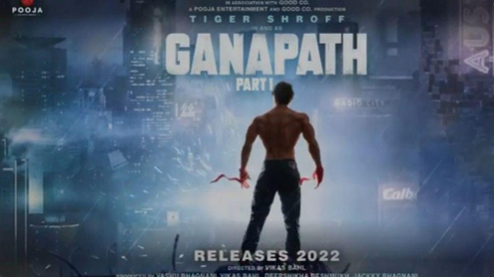 टाइगर श्रॉफ की फिल्म 'गणपत' का मोशन पोस्टर रिलीज, नए रूप में दिखेंगे एक्टर