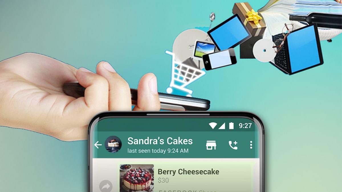 WhatsApp launches shopping button