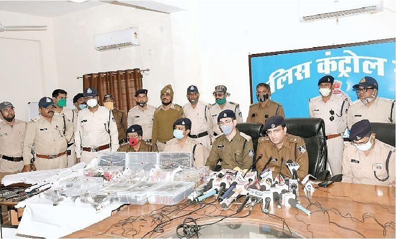 जबलपुर : कांग्रेस नेता के चर्चित जुएं फड़ पर दो दशक बाद बड़ी कार्रवाई