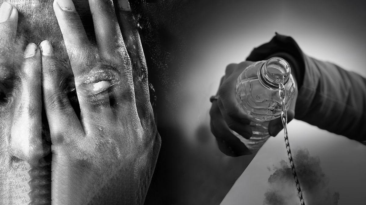 उज्जैन: एसिड हमले से झुलसी नर्स की हुई मौत, परिजनों का रो-रोकर बुरा हाल
