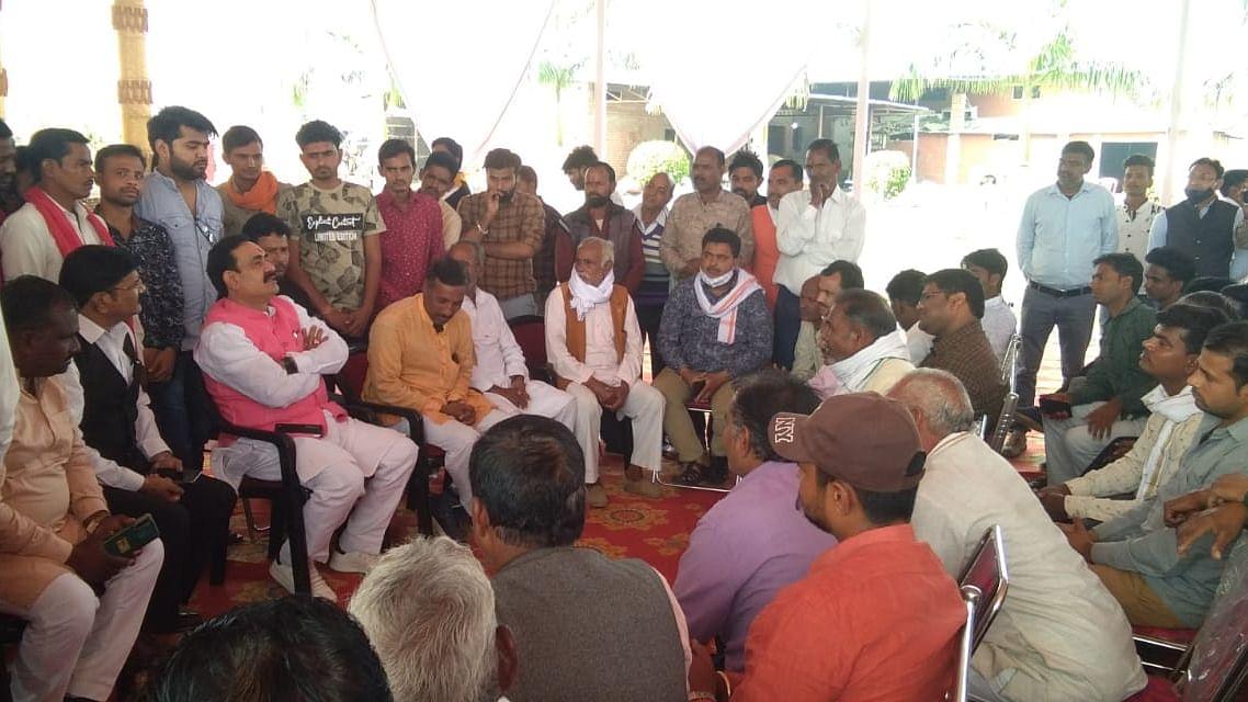 दतिया: दीपावली मिलन समारोह में शामिल होने पहुंचे मंत्री नरोत्तम मिश्रा
