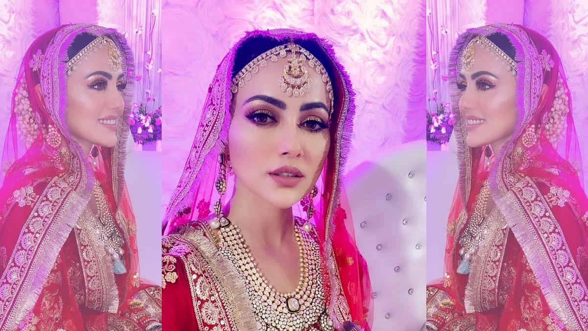 सना खान ने की मुफ्ती अनस से शादी, शेयर की पहली फोटो