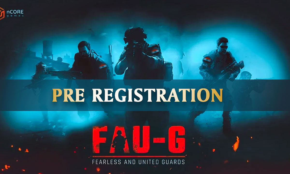 Pre-registration for the action game FAU-G