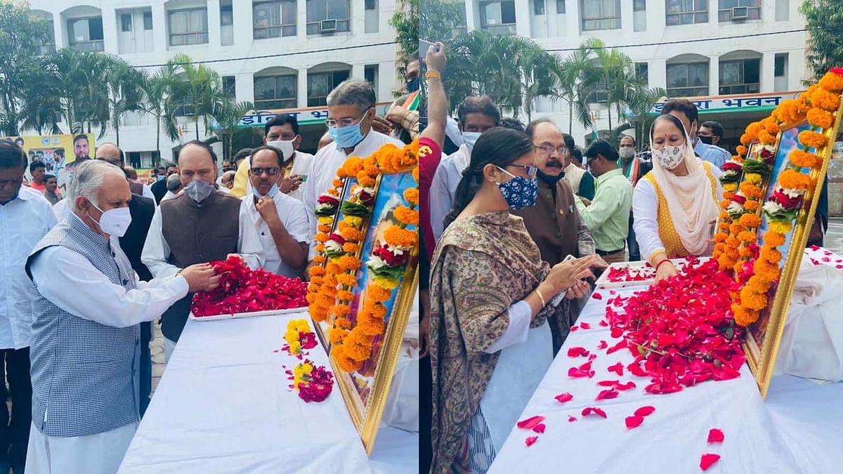 आज इंदिरा गांधी की जयंती: MP कांग्रेस कार्यालय में इंदिरा का जयंती समारोह