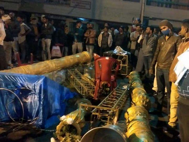 Woman dies due to firing at Tilak ceremony in Danbaad