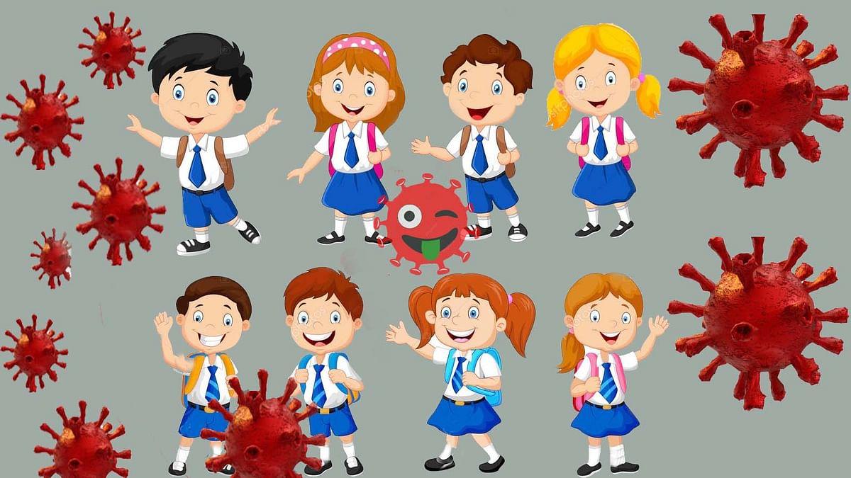 महामारी बच्चों पर भारी-बड़ी तादाद में स्कूली बच्चे संक्रमित से हड़कंप