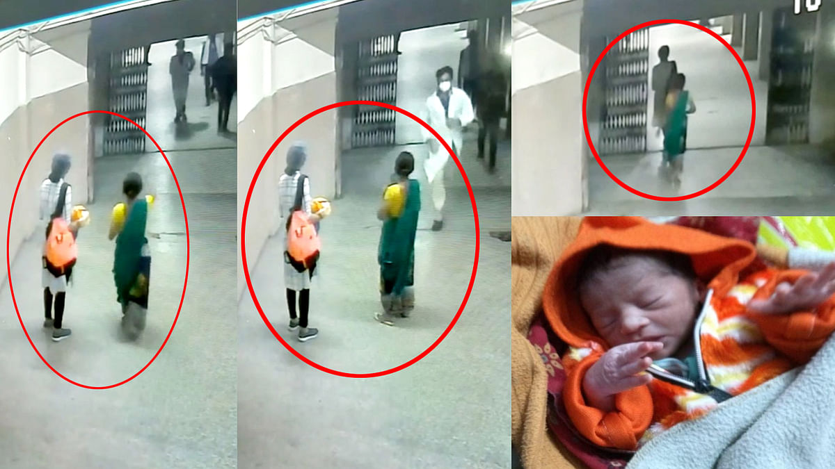 CCTV में दो महिलाएं हुई उजागर