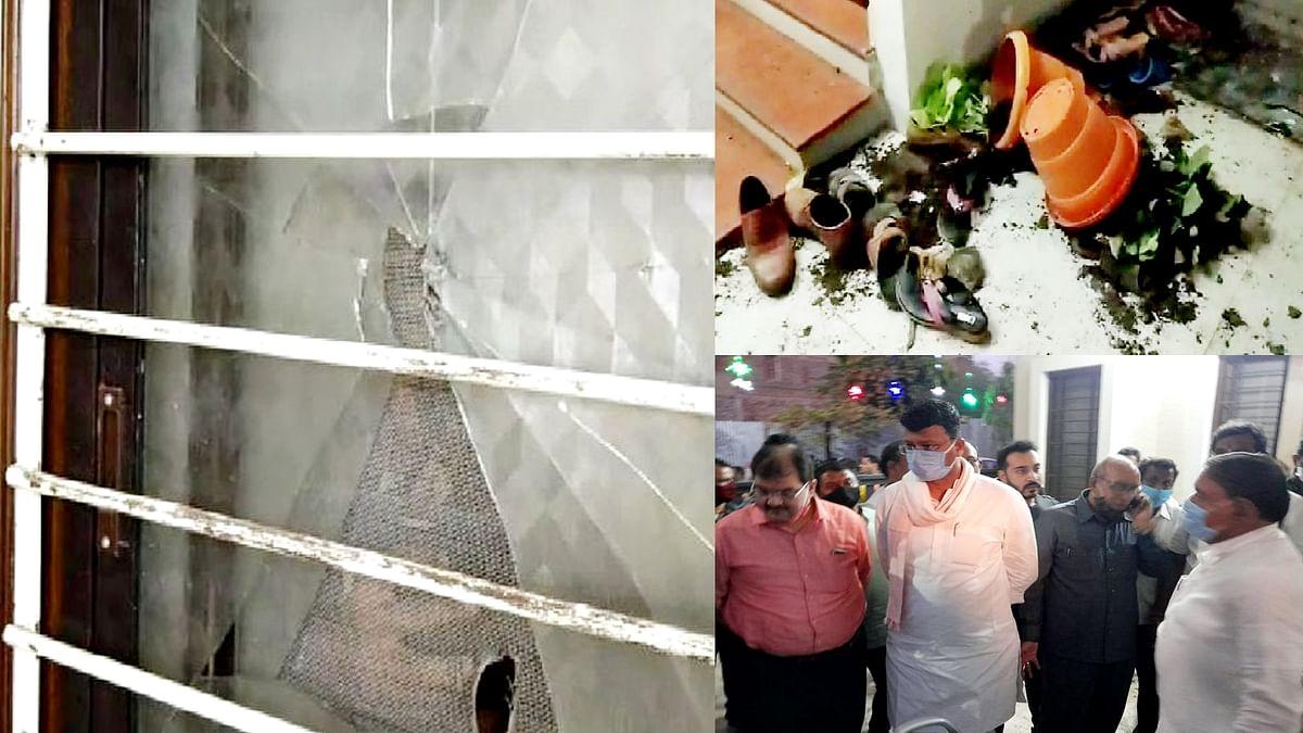नकाबपोश बदमाशों ने BJP नेता गोपीकृष्ण नेमा के घर पर किया हमला, जांच शुरु