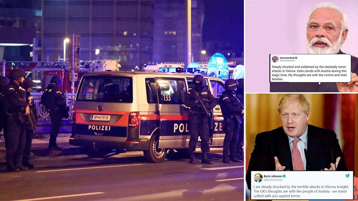 ऑस्ट्रिया के वियना में भयावह आतंकी हमला- भारत व ब्रिटेन के PM ने की निंदा