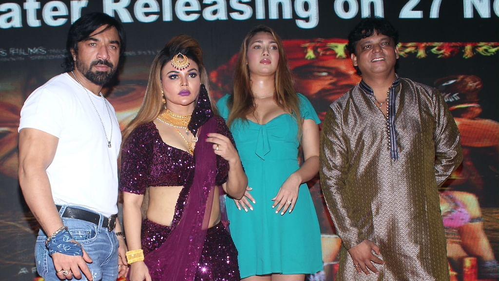 राखी सावंत ने जन्मदिन के अवसर पर फिल्म विनाशकाल का म्यूजिक लांच किया