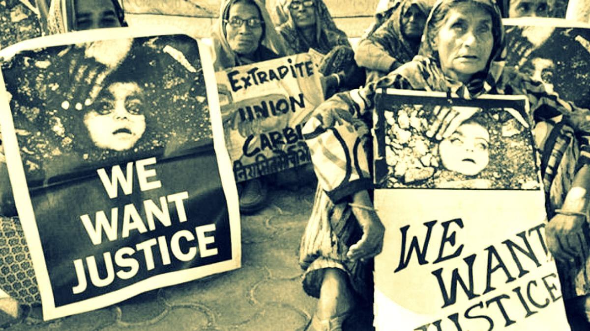भोपाल: गैस पीड़ितों ने उठाई मांग, स्थाई क्षतिके लिए डाव केमिकल दे मुआवजा