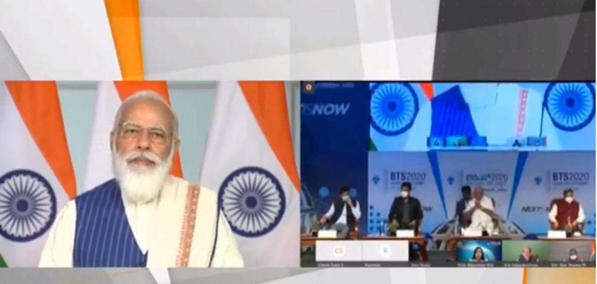 Bengaluru Tech Summit 2020 : सूचना युग में काफी आगे जा सकता है भारत- मोदी