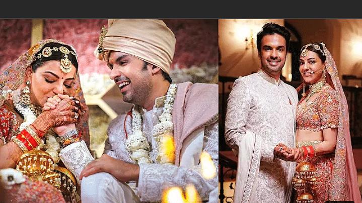 शादी के बाद पहली बार काजल अग्रवाल ने शेयर की Wedding Photos, देखें तस्वीरें