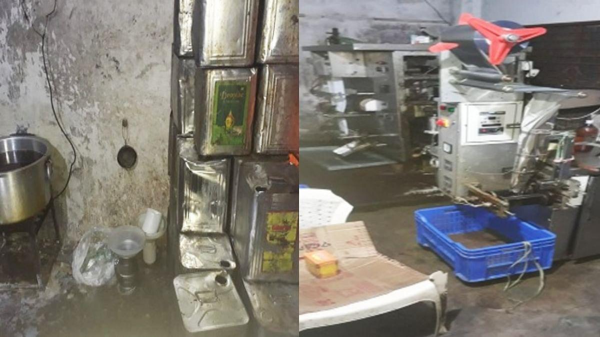 भोपाल: खाद्य विभाग की टीम ने 'नकली घी' बनाने वाली फैक्ट्री पर मारा छापा