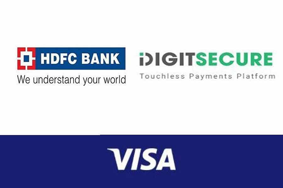 वीजा की डिजिटसिक्योर और एचडीएफसी बैंक के साथ साझेदारी