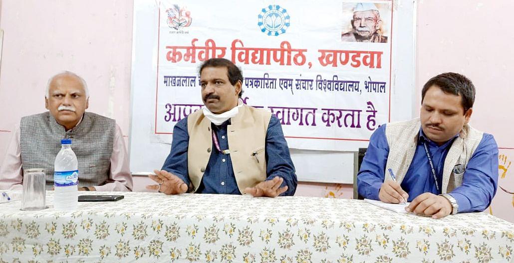 अपने भवन में संचालित होगा खंडवा स्थित 'कर्मवीर परिसर' : प्रो. केजी सुरेश