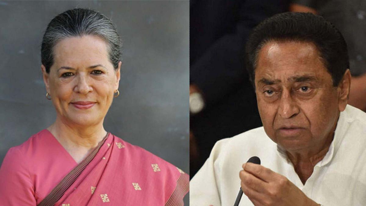 कमलनाथ ने सोनिया गांधी से की मुलाकात, दी 19 सीटों पर मिली हार की रिपोर्ट