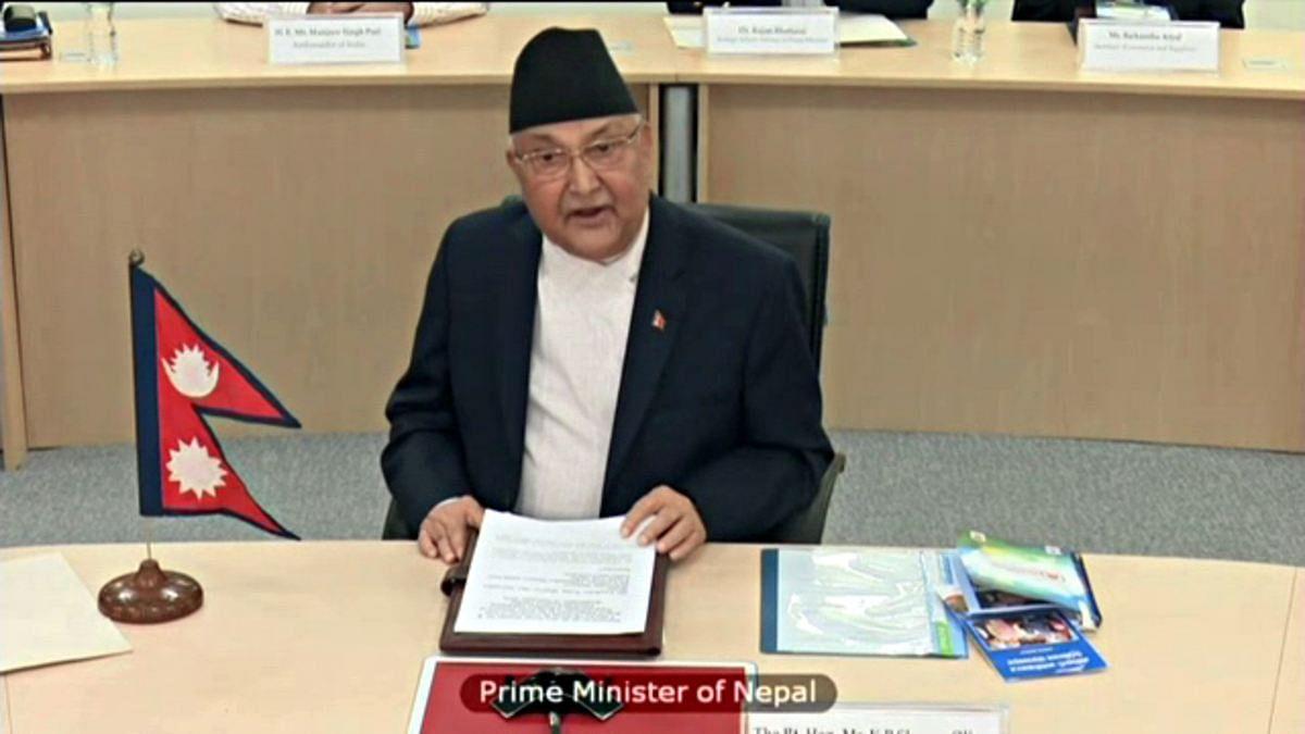 नेपाल में बढ़ा सियासी संग्राम- PM ओली ने की देश की संसद भंग करने की सिफारिश