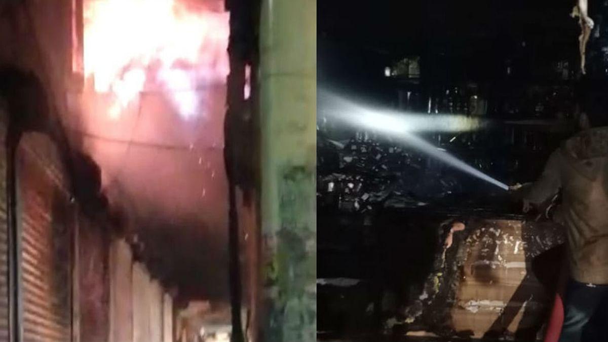 भोपाल: शराब की दुकान में भभकी भीषण आग, 50 लाख रूपए की शराब जलकर हुई ख़ाक
