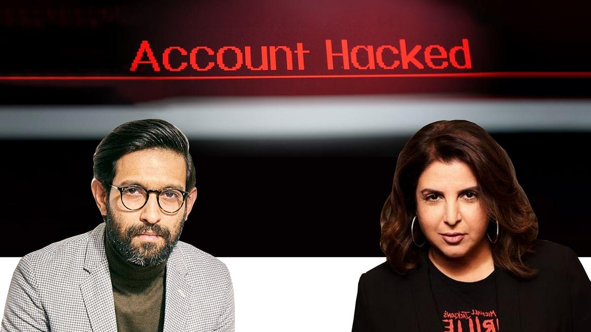 अभिनेता विक्रांत मेस्सी और फराह खान के सोशल मीडिया अकाउंट हैक