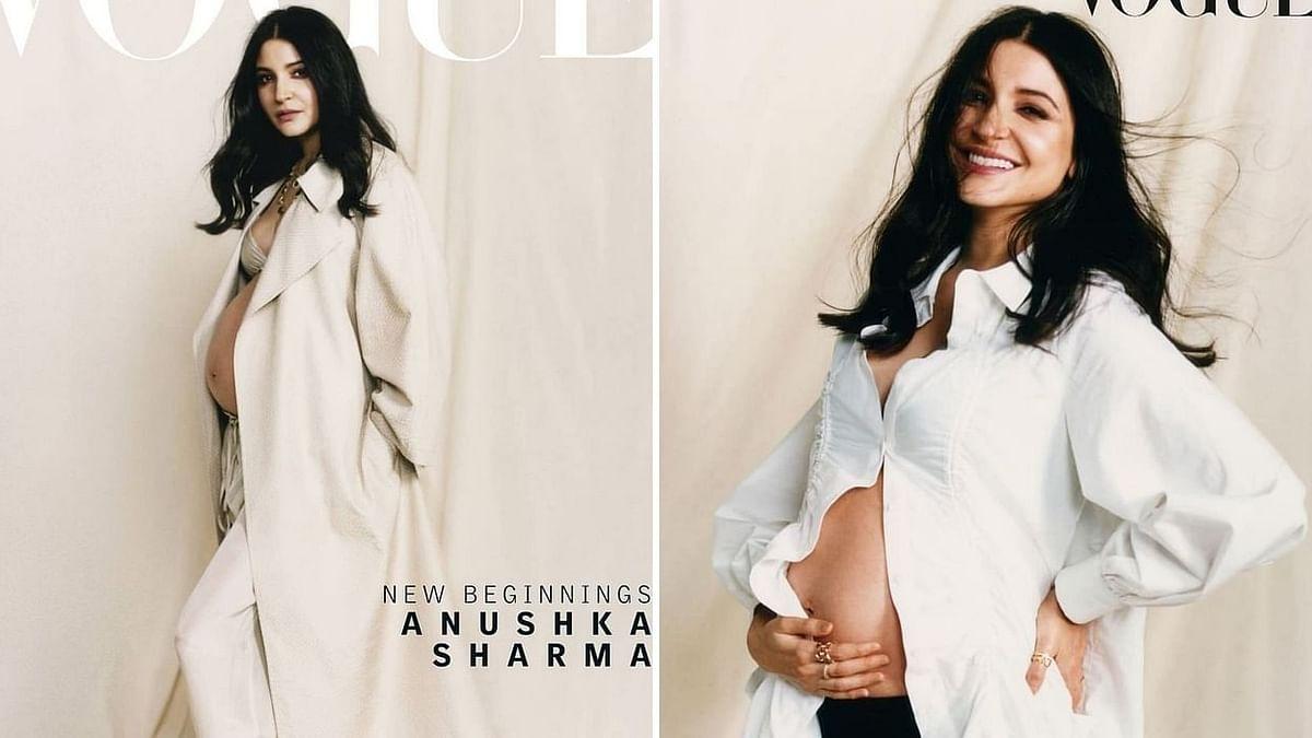 अनुष्का शर्मा ने बेबी बंप के साथ करवाया फोटोशूट, वायरल हो रही हैं तस्वीरें