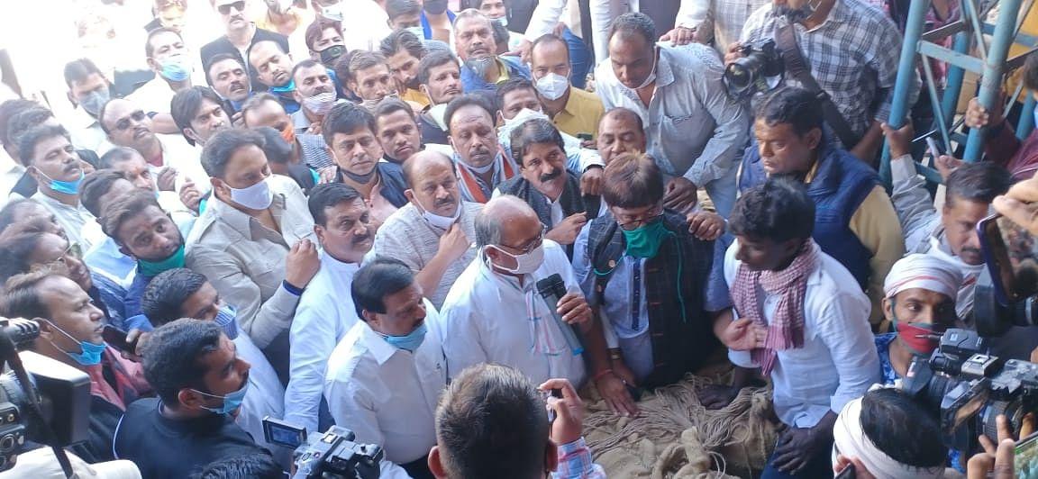 दिग्विजय सिंह ने नये कृषि कानूनों को लेकर केंद्र सरकार के खिलाफ हमला बोला