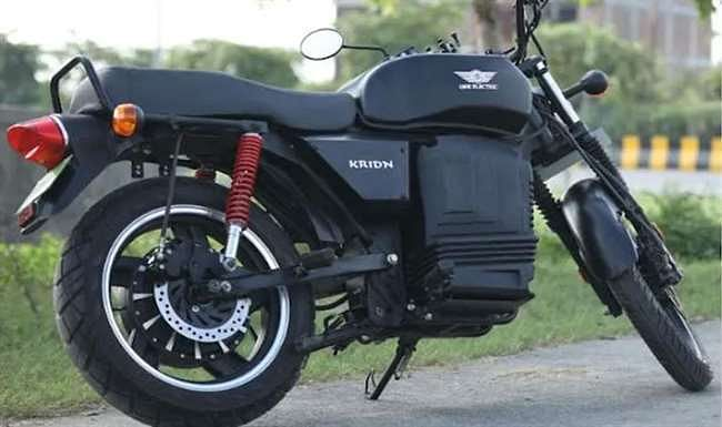 Electric Motorcycle KRIDN Delivery started in India