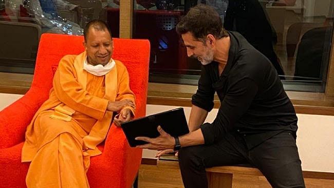 अयोध्या में 'राम सेतु' की शूटिंग करेंगे अक्षय, CM योगी से मांगी अनुमति