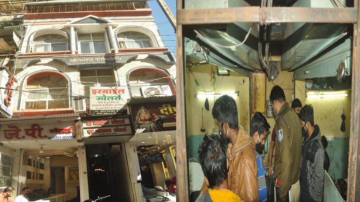 इंदौर में चोरी की वारदात: सोने-चांदी की दुकानों से 50 लाख से ज्यादा की चोरी