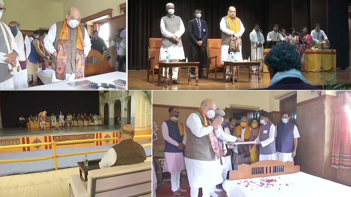बंगाल में अमित शाह के दौरे का दूसरा दिन- रंगारंग कार्यक्रमों में हुए शामिल