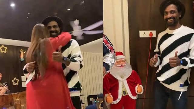 क्रिसमस के मौके पर डांस करते नजर आए रेमो डिसूजा, वायरल हो रहा है वीडियो