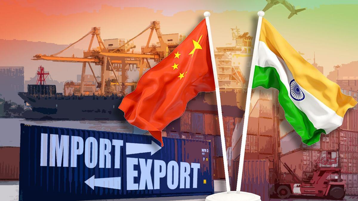 साल 2020 में भारत-चीन के बीच दर्ज की गई आयात में गिरावट-निर्यात में बढ़त