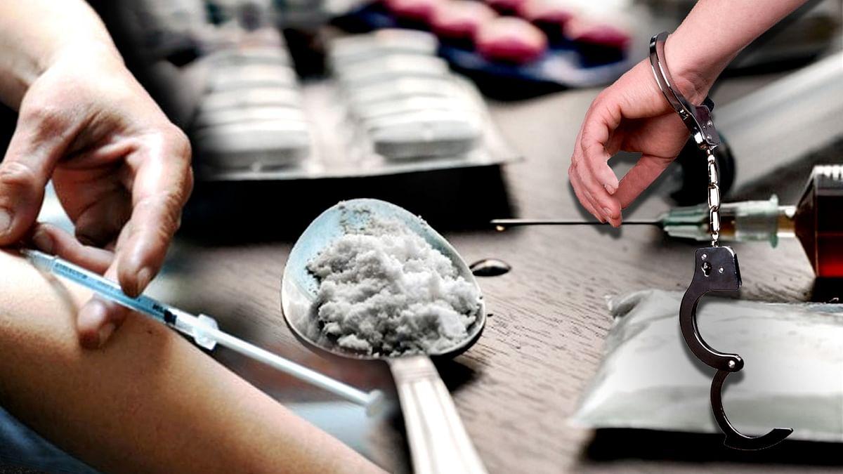 नशीले इंजेक्शन बेचते आरोपी गिरफ्तार, 24 नग इंजेक्शन व 6 सिरिंज बरामद