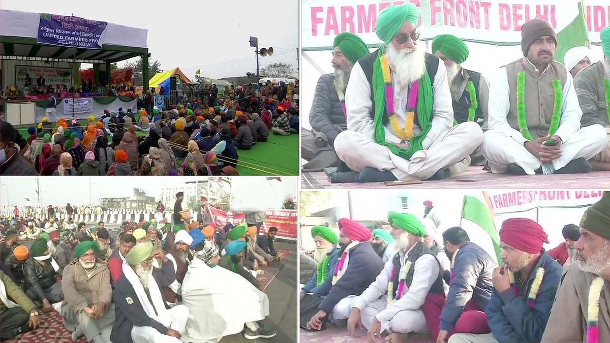 कृषि कानून के खिलाफ किसान आंदोलन का 19वां दिन- भूख हड़ताल पर बैठे अन्नदाता