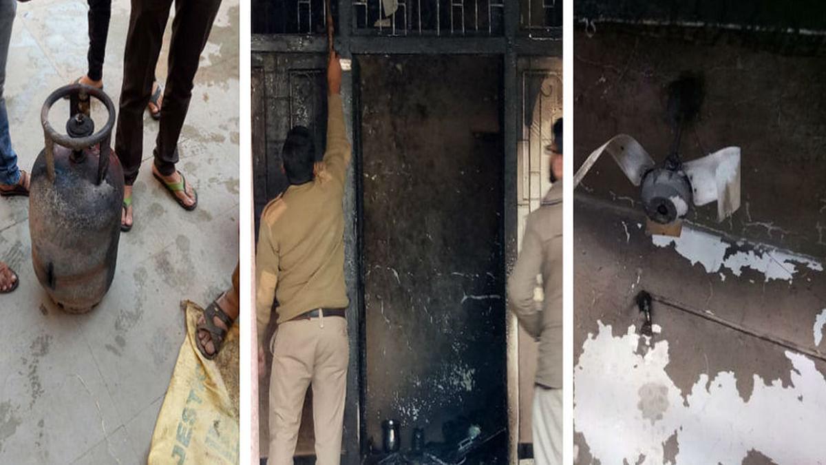 भोपाल के लखेरापुरा स्थित धर्मशाला में सिलेंडर फटने से मचा हड़कंप, 2 लोग घायल