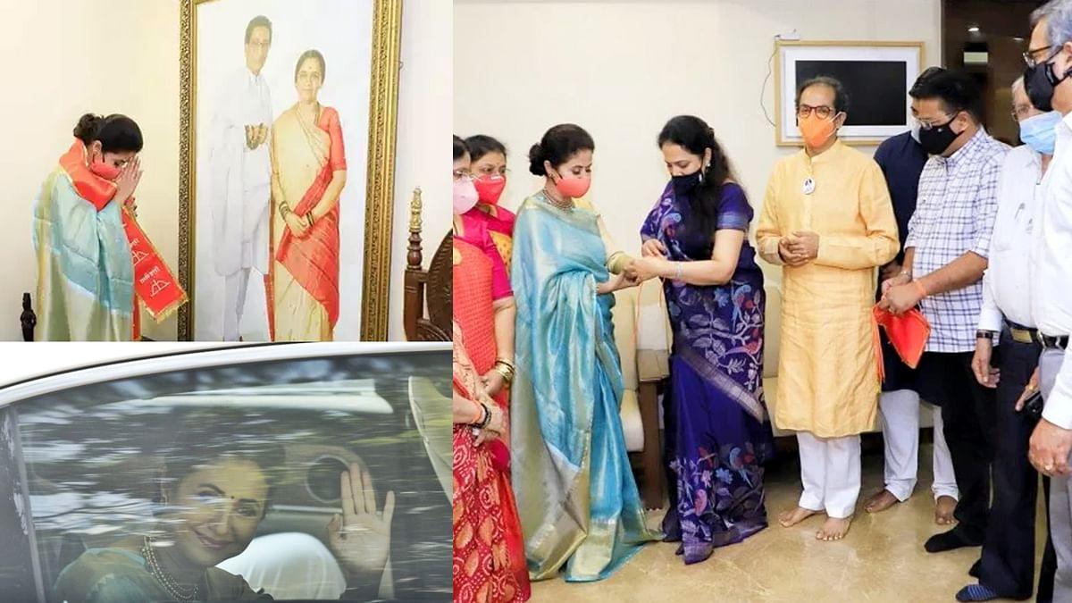 महाराष्ट्र : अभिनेत्री उर्मिला मातोंडकर ने थामा शिवसेना का दामन