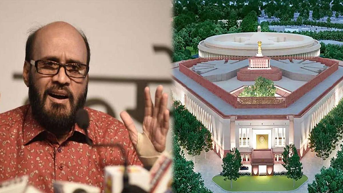 नए संसद भवन के निर्माण पर कांग्रेस प्रवक्ता मिश्रा ने कसा तंज, कही ये बात