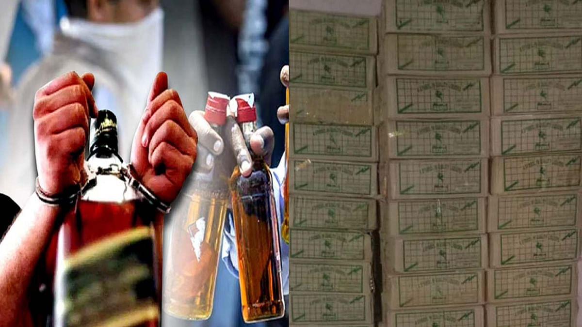 सागर: पुलिस ने अवैध शराब तस्कर पर जकड़ा शिकंजा, जब्त की 175 पेटी