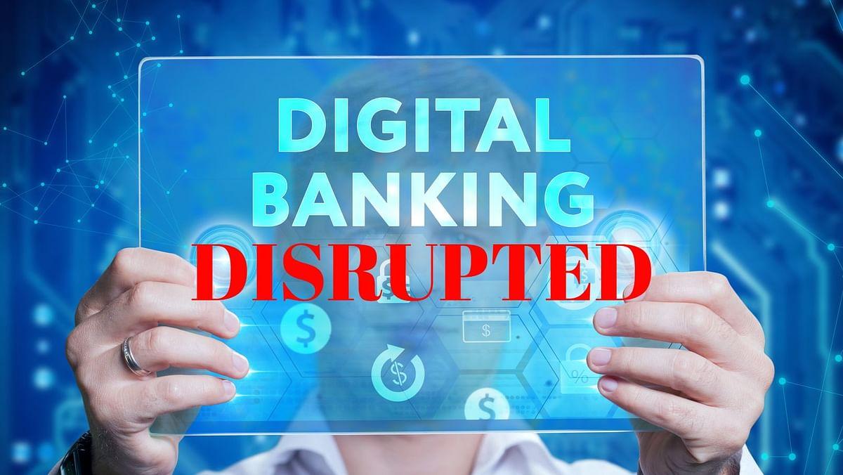 एचडीएफसी व एसबीआई बैंक की डिजिटल सेवाएं बाधित