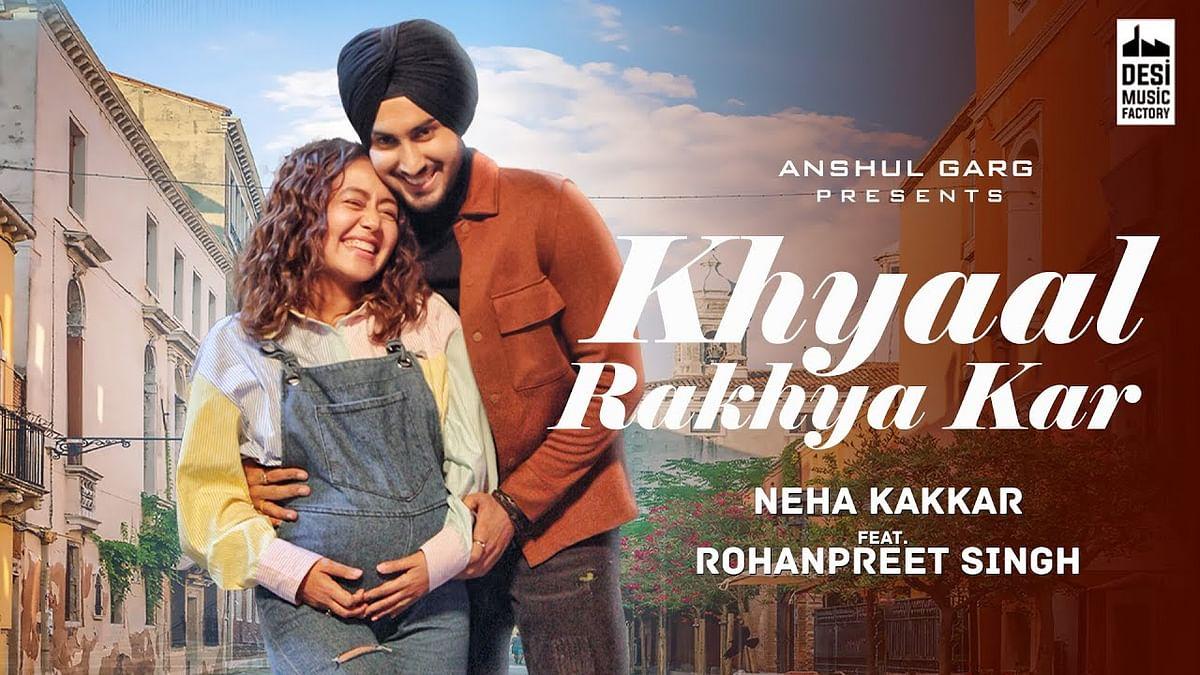 नेहा कक्कड़ और रोहनप्रीत सिंह का नया गाना 'ख्याल रख्या कर' हुआ रिलीज
