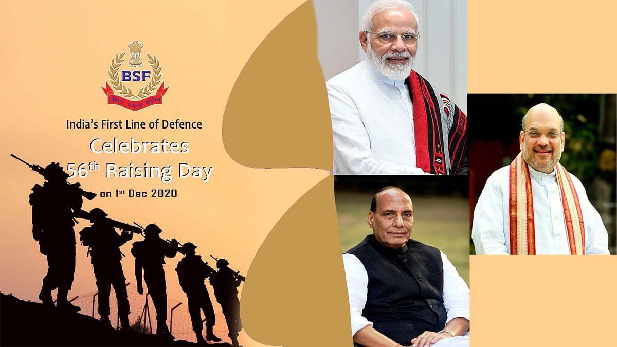 BSF स्थापना दिवस पर मोदी-शाह समेत तमाम नेताओं ने जवानों को किया नमन